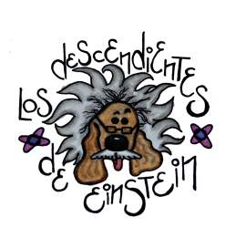 Los Descendientes de Eintein logo recort
